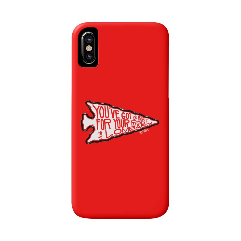 You've Got to Fight For Your Right to Lombardi Accessories Phone Case by redleggerstudio's Shop