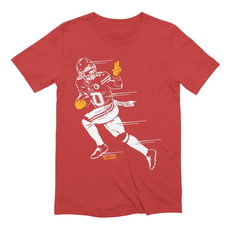 Cheetah Men's T-Shirt by redleggerstudio's Shop