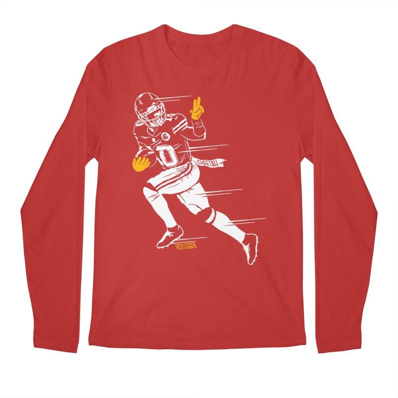 Cheetah Men's Regular Longsleeve T-Shirt by redleggerstudio's Shop