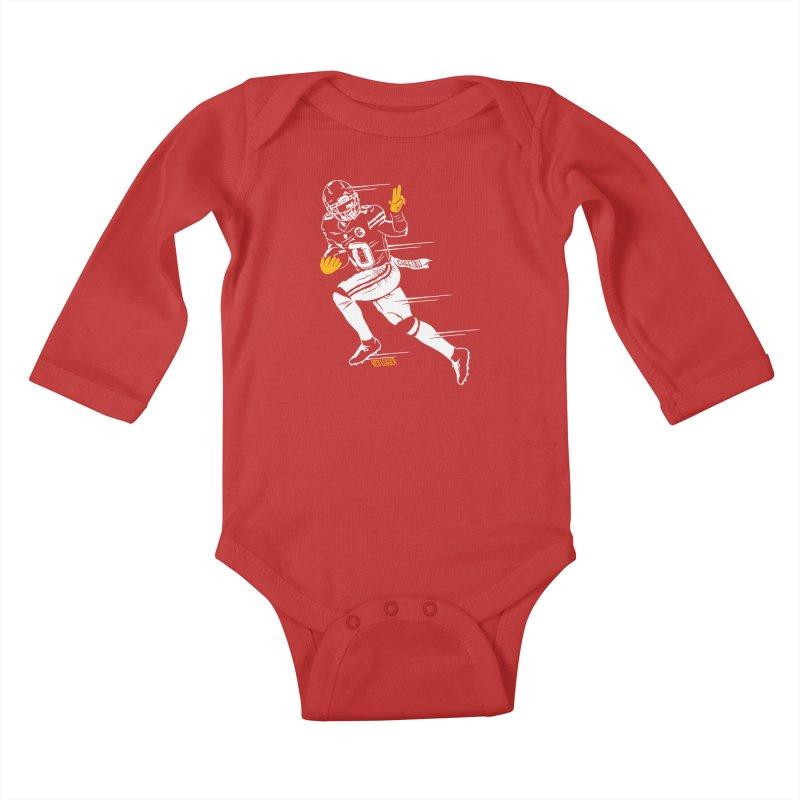 Cheetah Kids Baby Longsleeve Bodysuit by redleggerstudio's Shop
