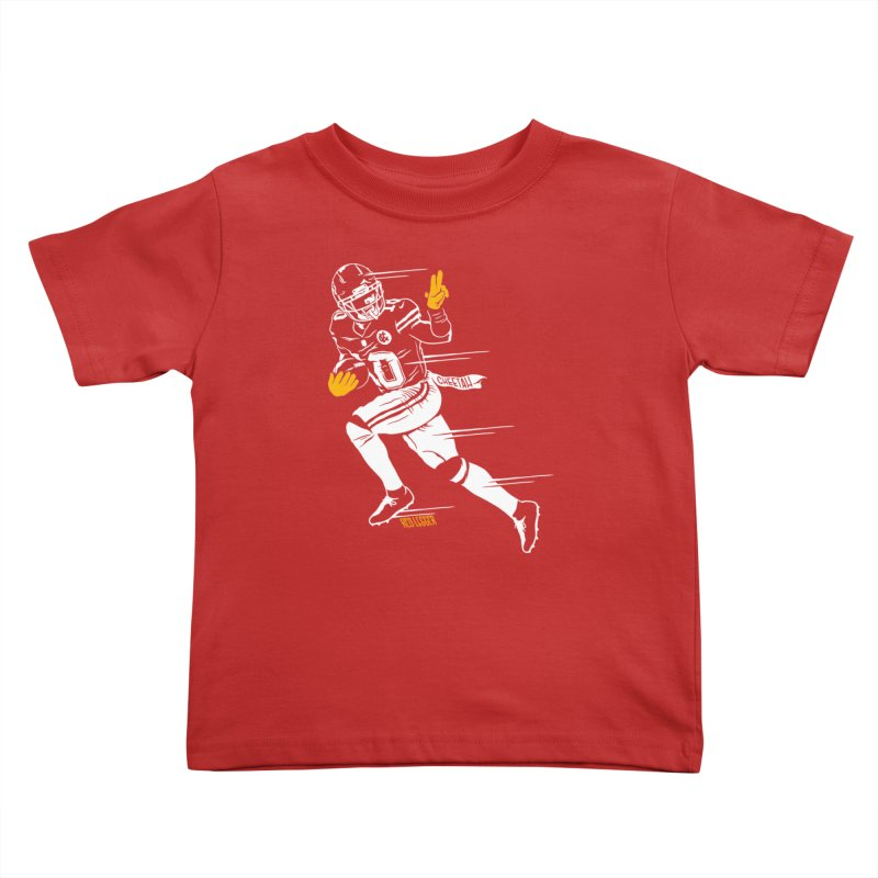 Cheetah Kids Toddler T-Shirt by redleggerstudio's Shop