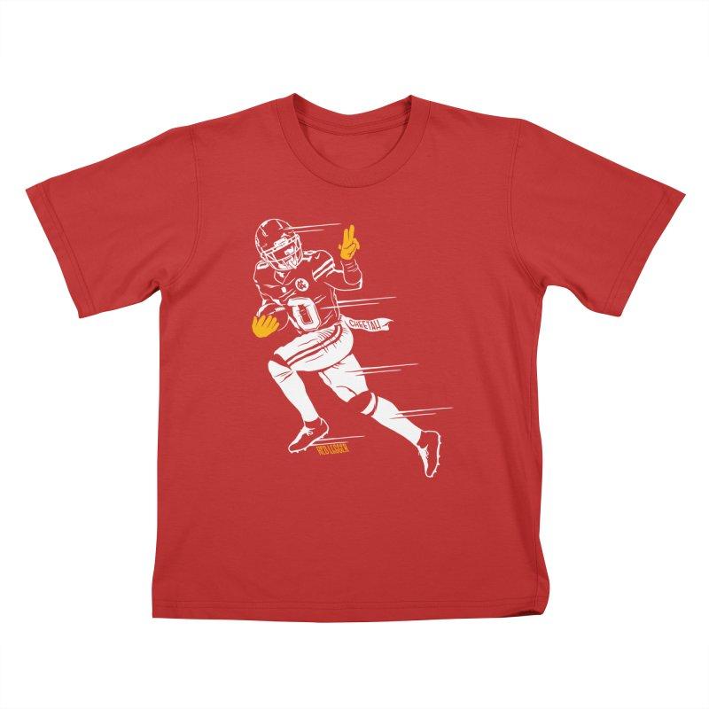 Cheetah Kids T-Shirt by redleggerstudio's Shop