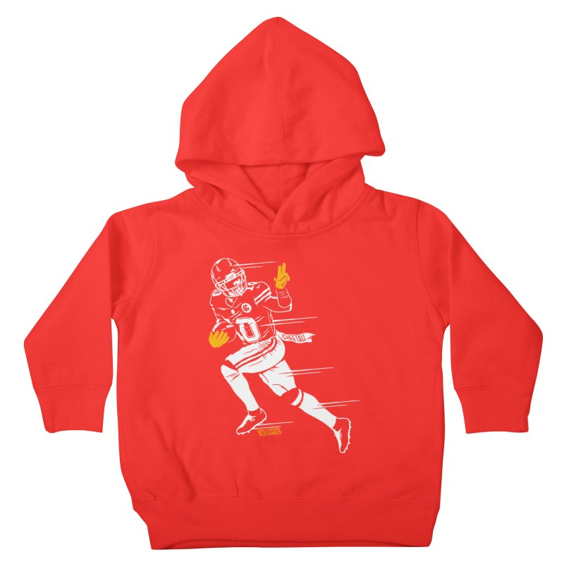 Cheetah Kids Toddler Pullover Hoody by redleggerstudio's Shop