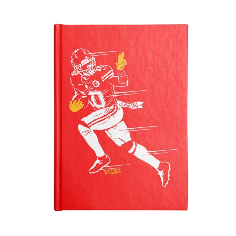 Cheetah Accessories Lined Journal Notebook by redleggerstudio's Shop