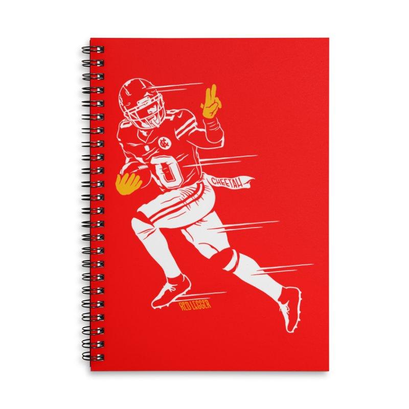 Cheetah Accessories Notebook by redleggerstudio's Shop