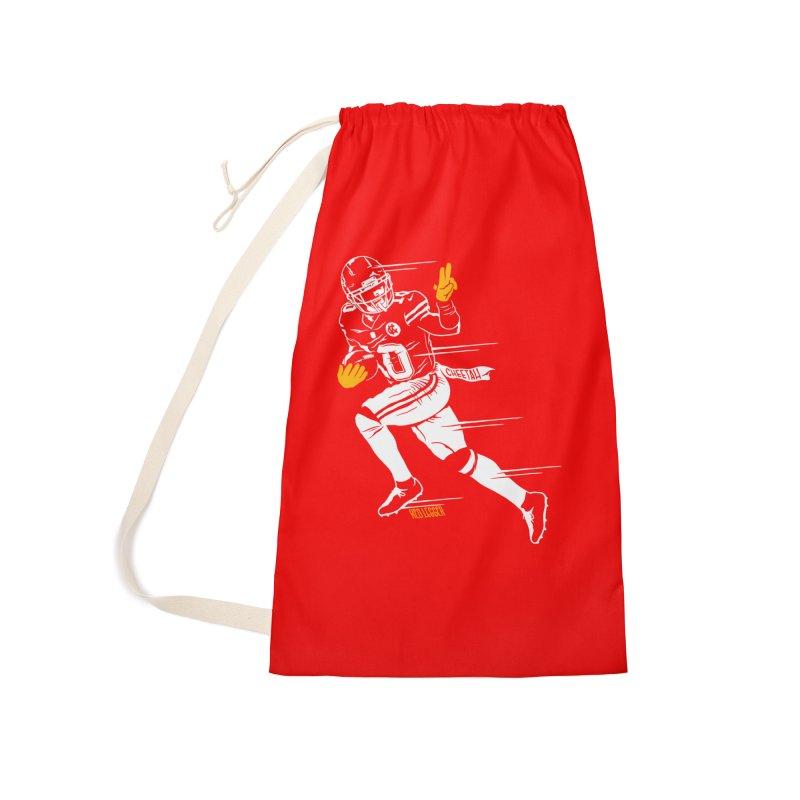 Cheetah Accessories Bag by redleggerstudio's Shop