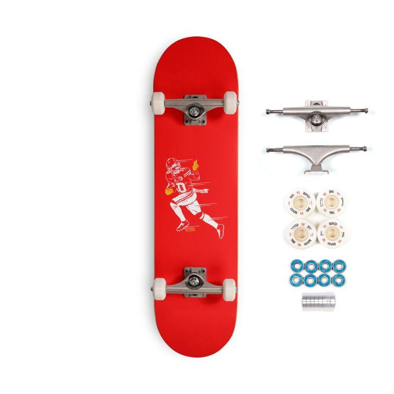 Cheetah Accessories Skateboard by redleggerstudio's Shop