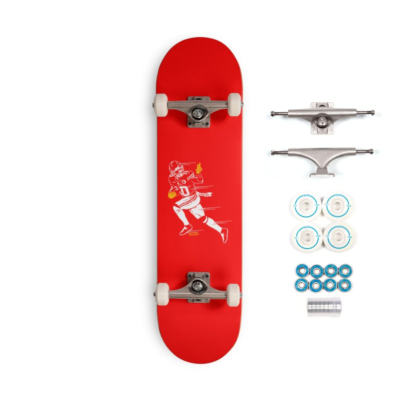 Cheetah Accessories Skateboard by redleggerstudio's Shop