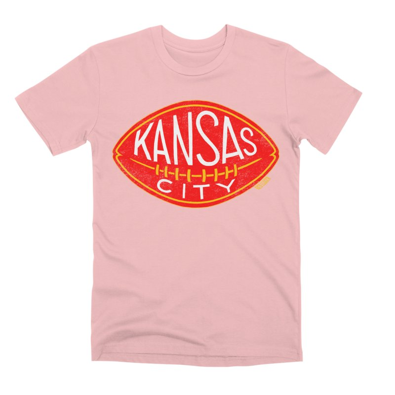 Kansas City Football Men's Premium T-Shirt by redleggerstudio's Shop