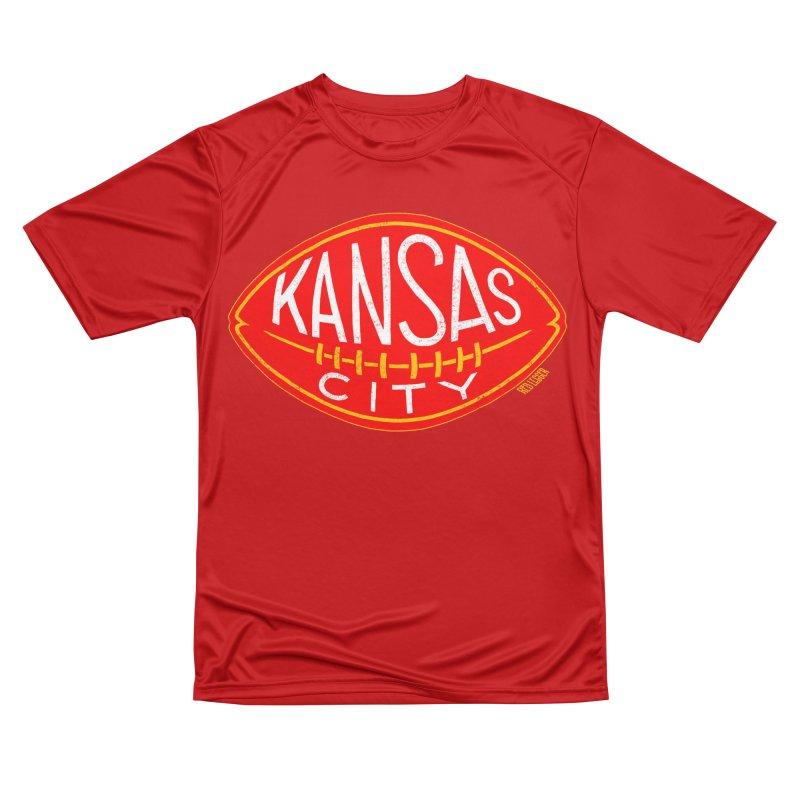 Kansas City Football Men's Performance T-Shirt by redleggerstudio's Shop