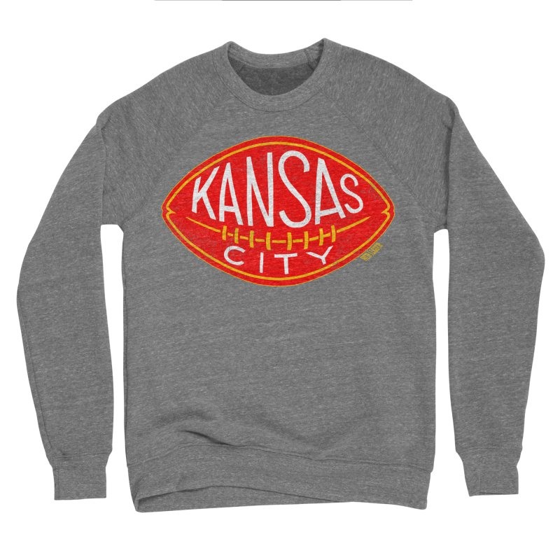 Kansas City Football Women's Sponge Fleece Sweatshirt by redleggerstudio's Shop