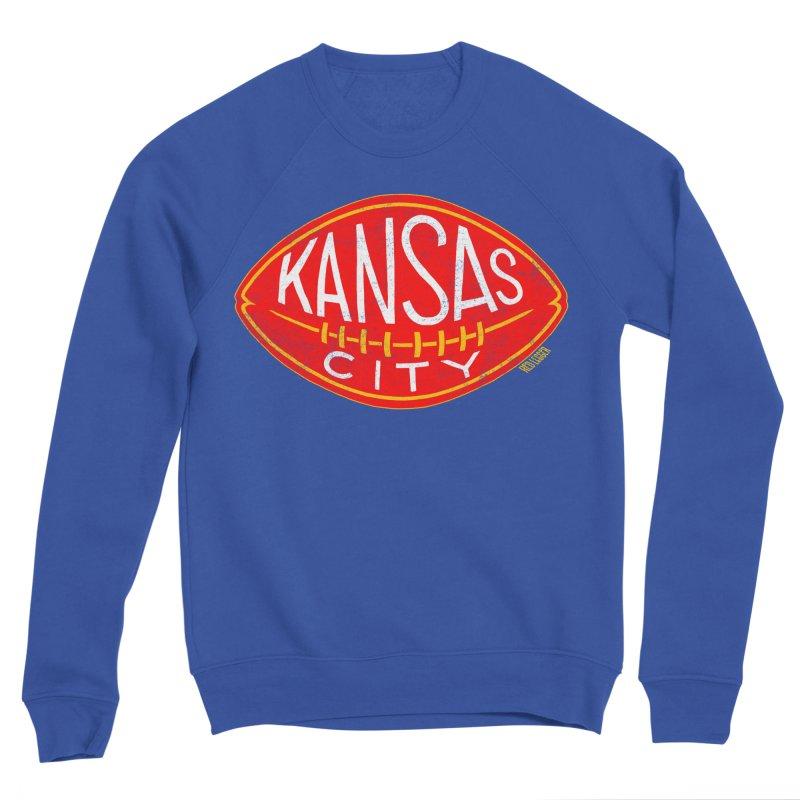 Kansas City Football Men's Sweatshirt by redleggerstudio's Shop