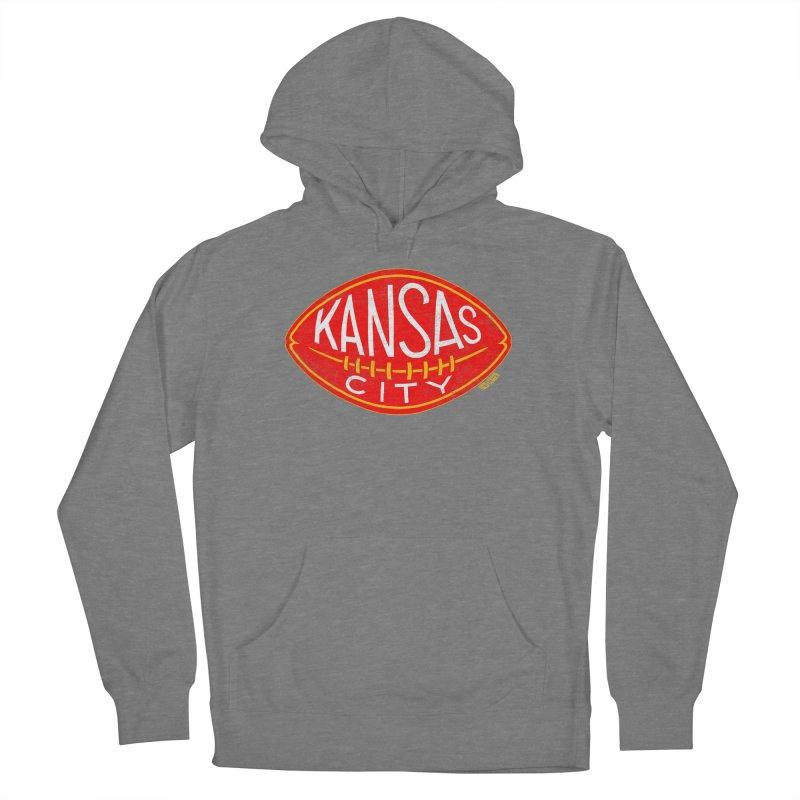 Kansas City Football Women's Pullover Hoody by redleggerstudio's Shop