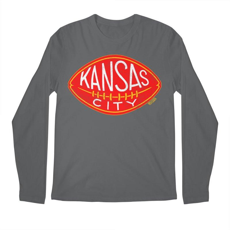 Kansas City Football Men's Regular Longsleeve T-Shirt by redleggerstudio's Shop