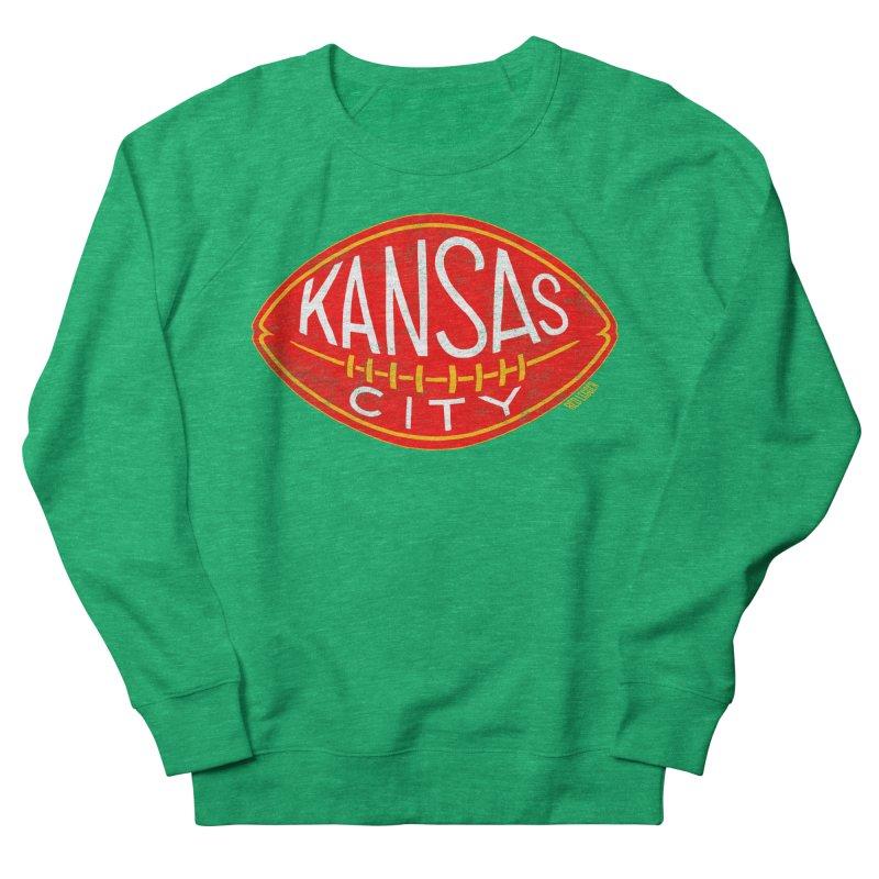 Kansas City Football Women's Sweatshirt by redleggerstudio's Shop
