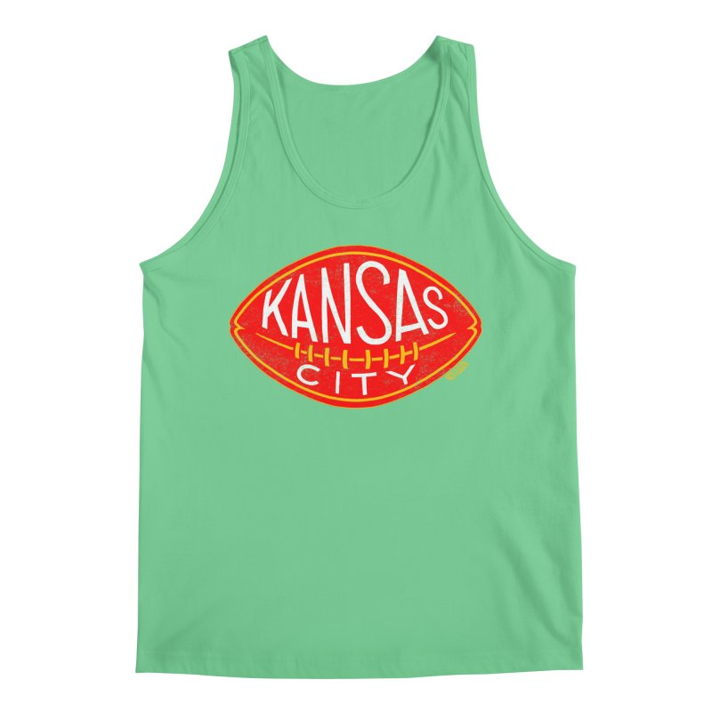 Kansas City Football Men's Tank by redleggerstudio's Shop