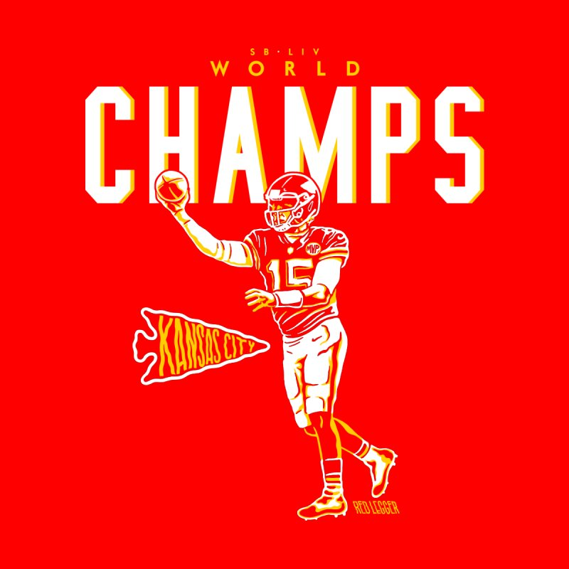 Champs Home Mounted Aluminum Print by redleggerstudio's Shop