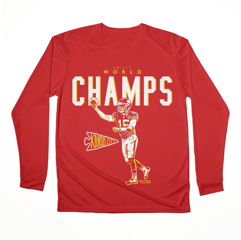 Champs Women's Longsleeve T-Shirt by redleggerstudio's Shop