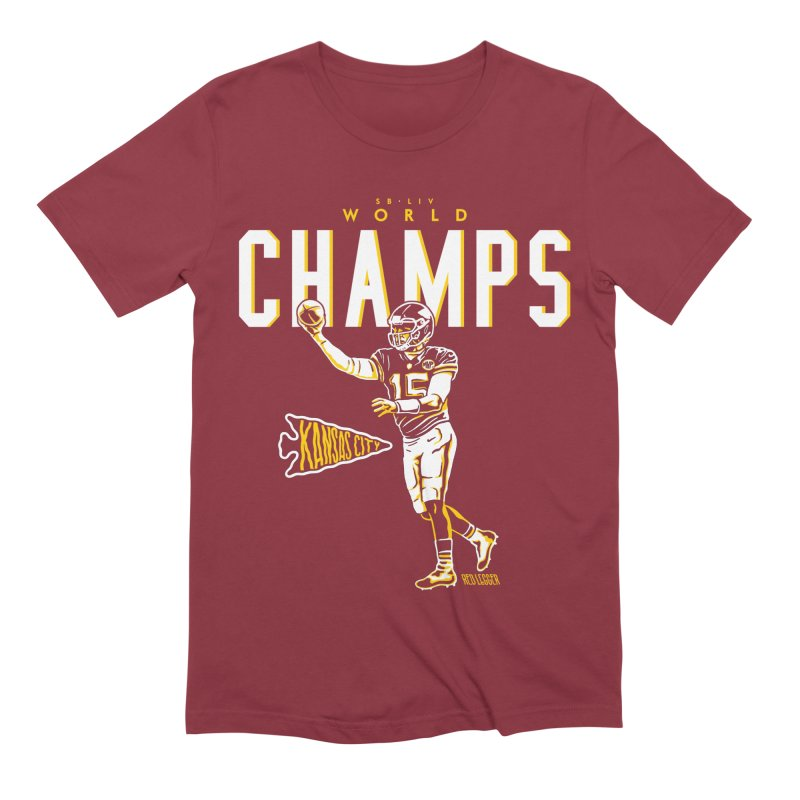 Champs Men's Extra Soft T-Shirt by redleggerstudio's Shop