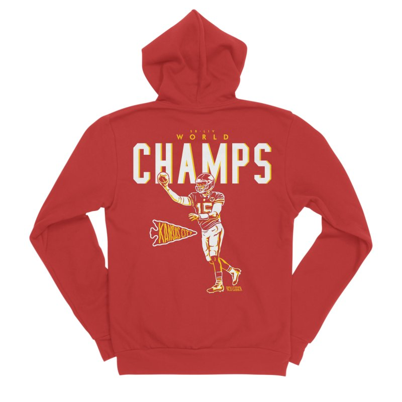 Champs Men's Sponge Fleece Zip-Up Hoody by redleggerstudio's Shop