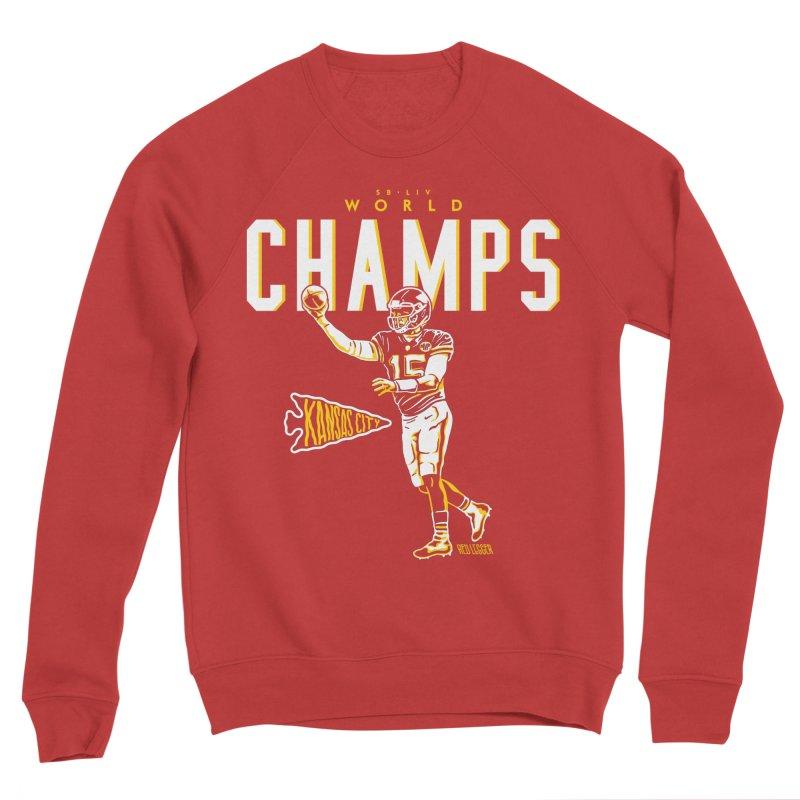 Champs Women's Sponge Fleece Sweatshirt by redleggerstudio's Shop