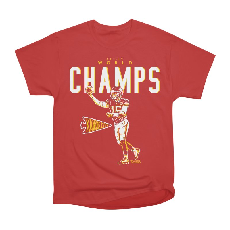 Champs Men's Heavyweight T-Shirt by redleggerstudio's Shop