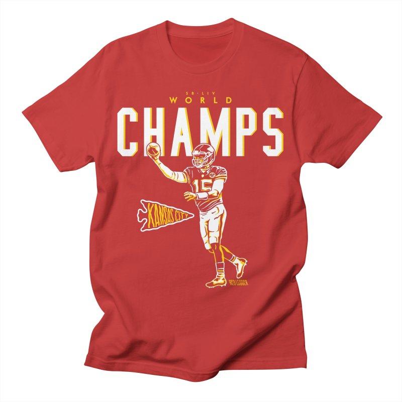 Champs Men's T-Shirt by redleggerstudio's Shop