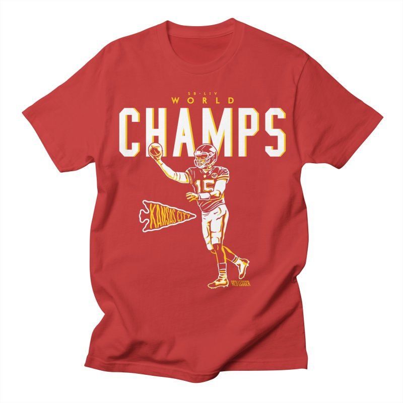 Champs Women's T-Shirt by redleggerstudio's Shop