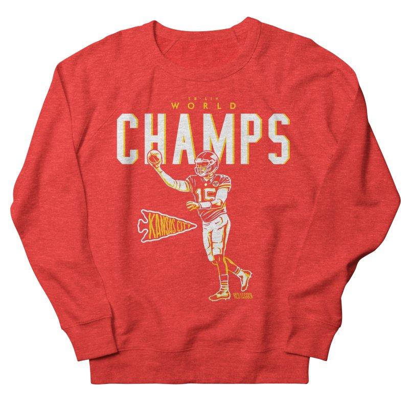 Champs Women's Sweatshirt by redleggerstudio's Shop