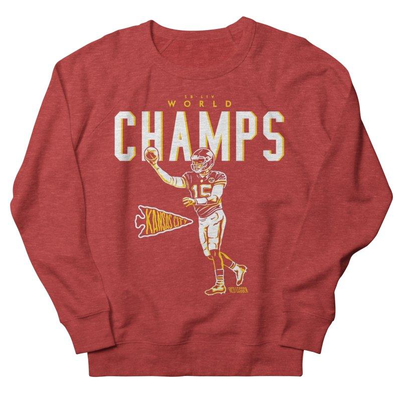 Champs Men's French Terry Sweatshirt by redleggerstudio's Shop