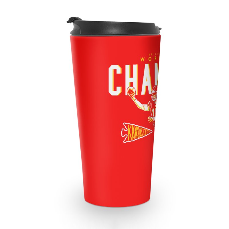 Champs Accessories Travel Mug by redleggerstudio's Shop