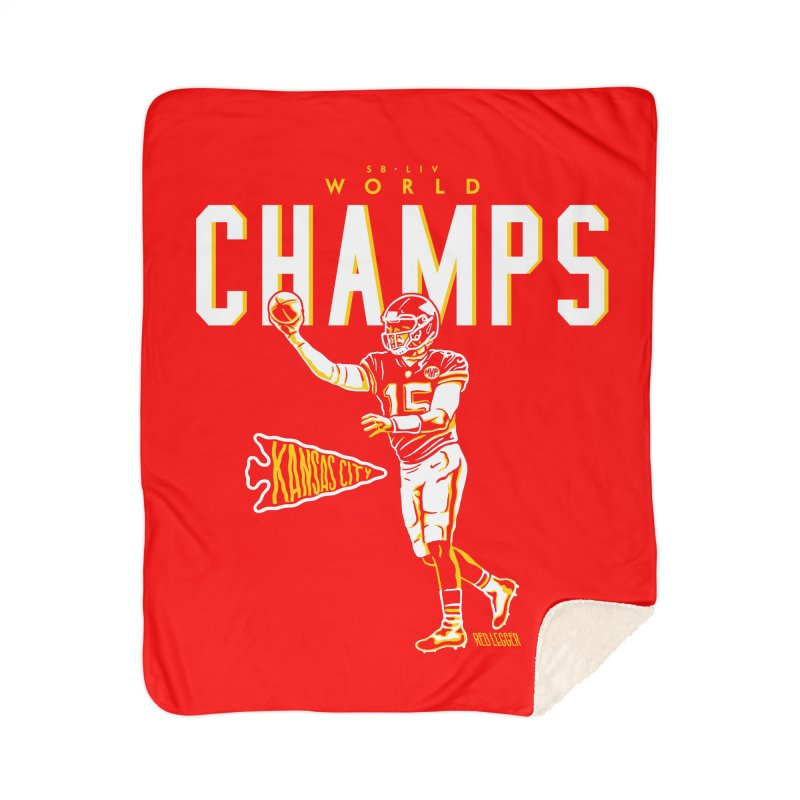 Champs Home Blanket by redleggerstudio's Shop
