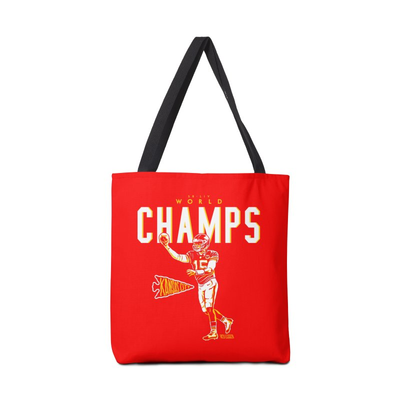 Champs Accessories Bag by redleggerstudio's Shop