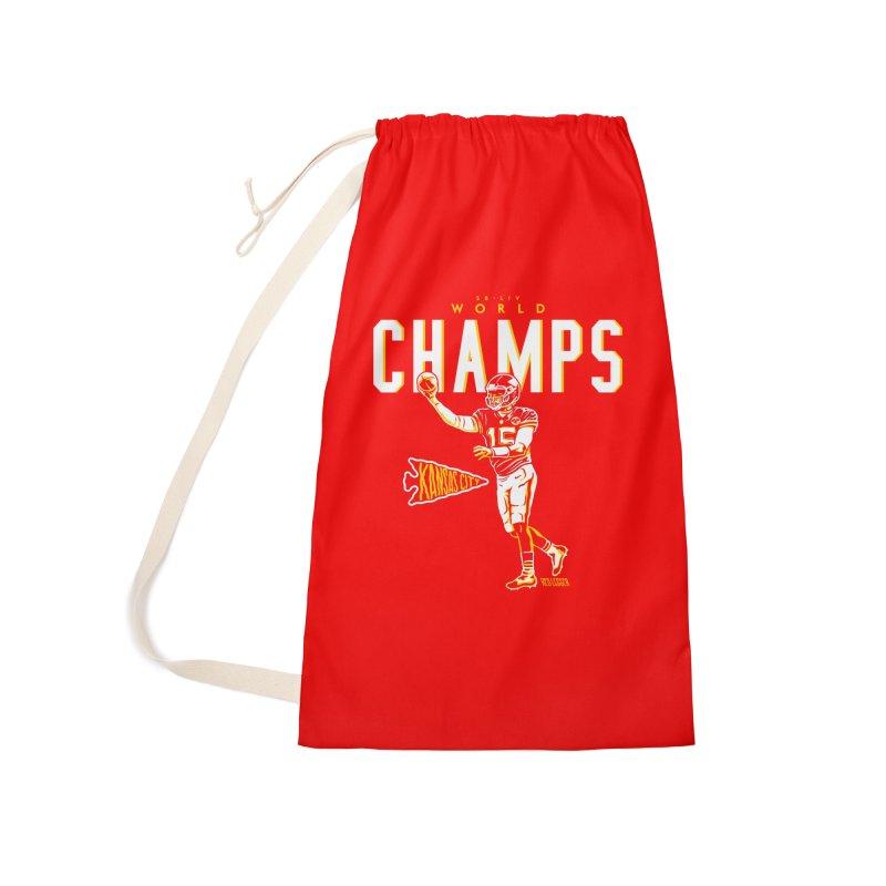 Champs Accessories Bag by redleggerstudio's Shop