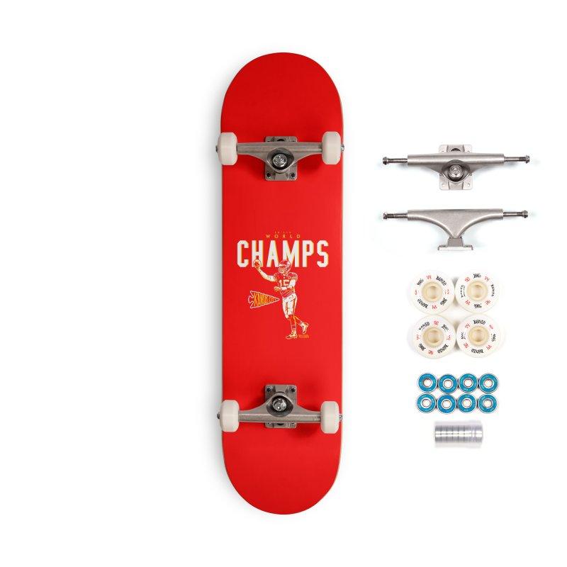 Champs Accessories Complete - Premium Skateboard by redleggerstudio's Shop