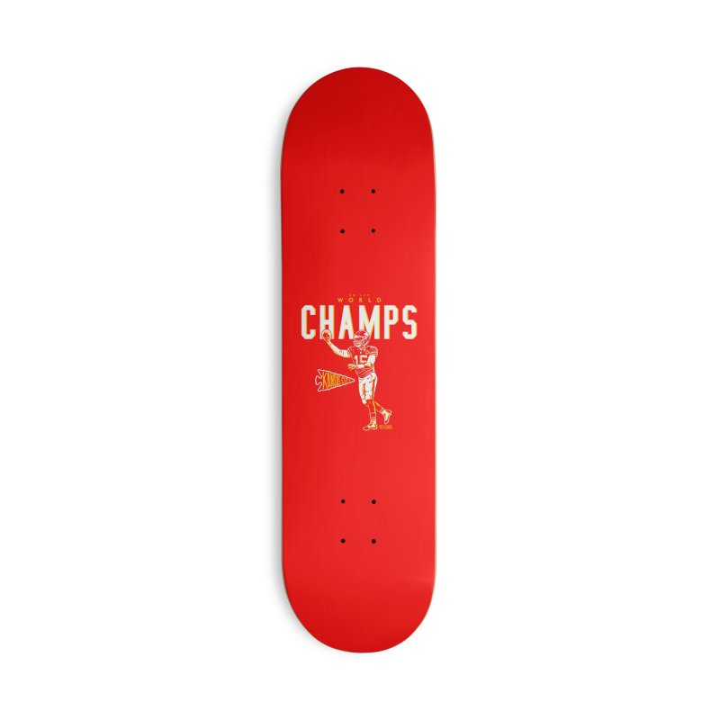 Champs Accessories Deck Only Skateboard by redleggerstudio's Shop