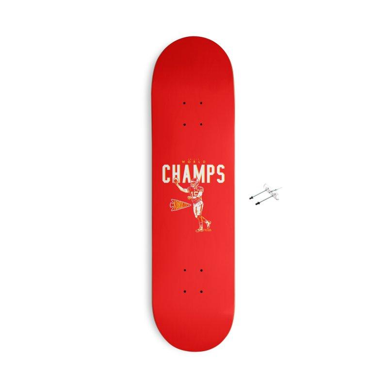 Champs Accessories Skateboard by redleggerstudio's Shop