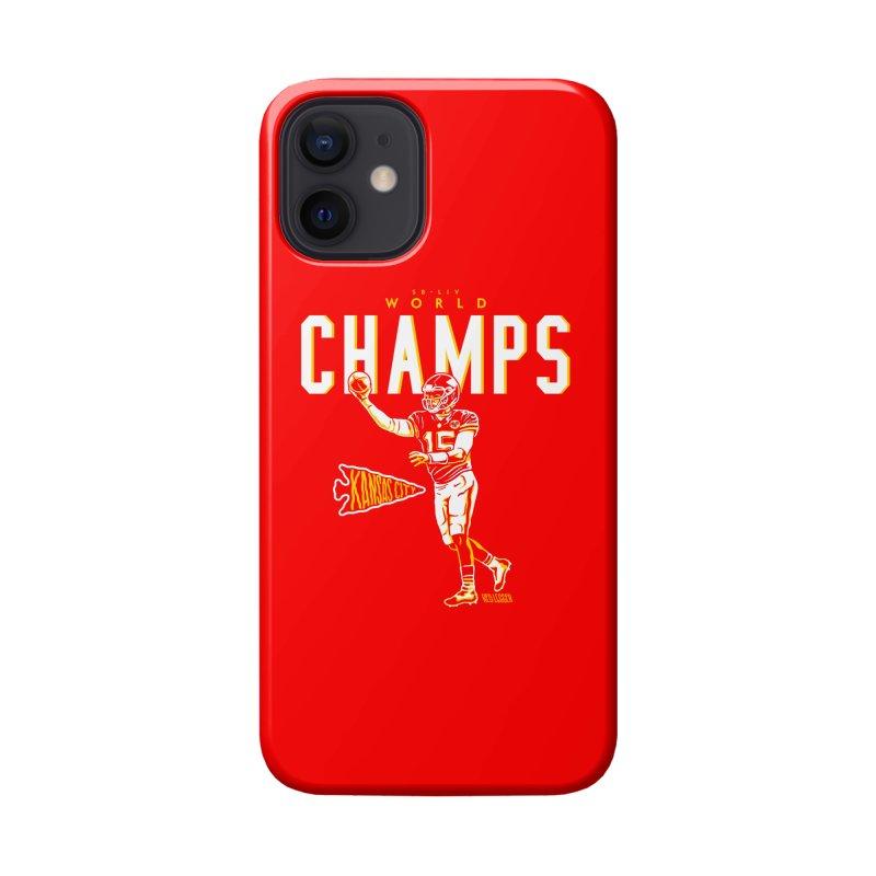 Champs Accessories Phone Case by redleggerstudio's Shop