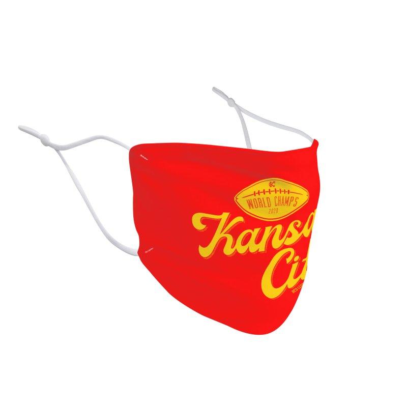 Kansas City Champs Accessories Face Mask by redleggerstudio's Shop