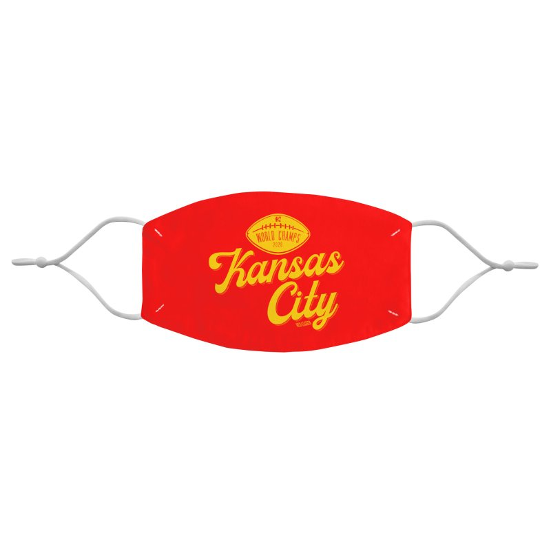 Kansas City Champs Accessories Face Mask by redleggerstudio's Shop