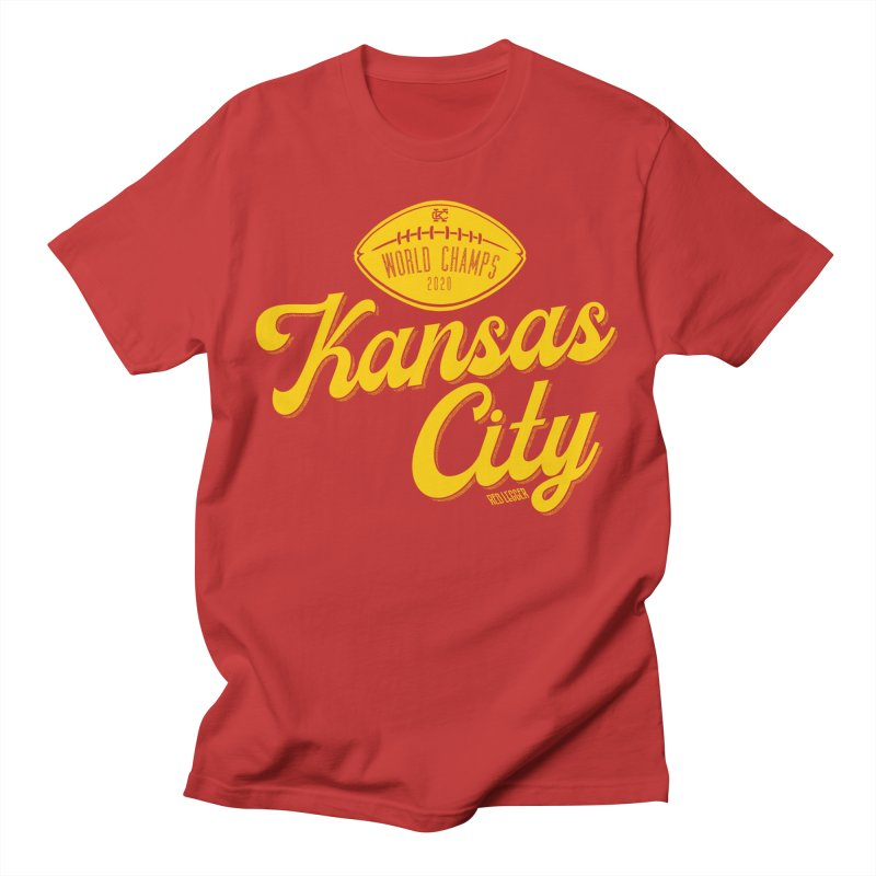 Kansas City Champs Men's T-Shirt by redleggerstudio's Shop