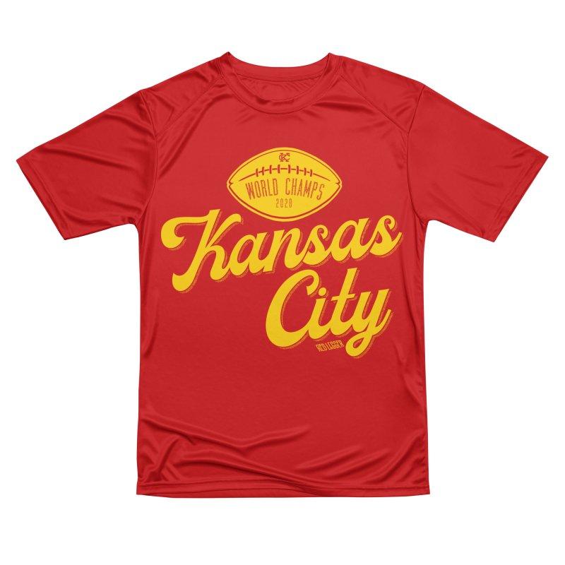 Kansas City Champs Women's Performance Unisex T-Shirt by redleggerstudio's Shop