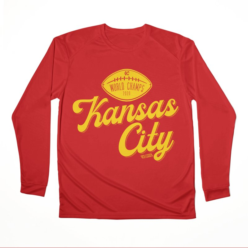 Kansas City Champs Women's Longsleeve T-Shirt by redleggerstudio's Shop