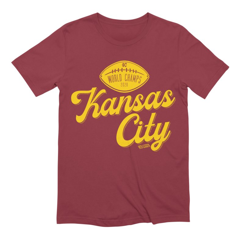 Kansas City Champs Men's Extra Soft T-Shirt by redleggerstudio's Shop