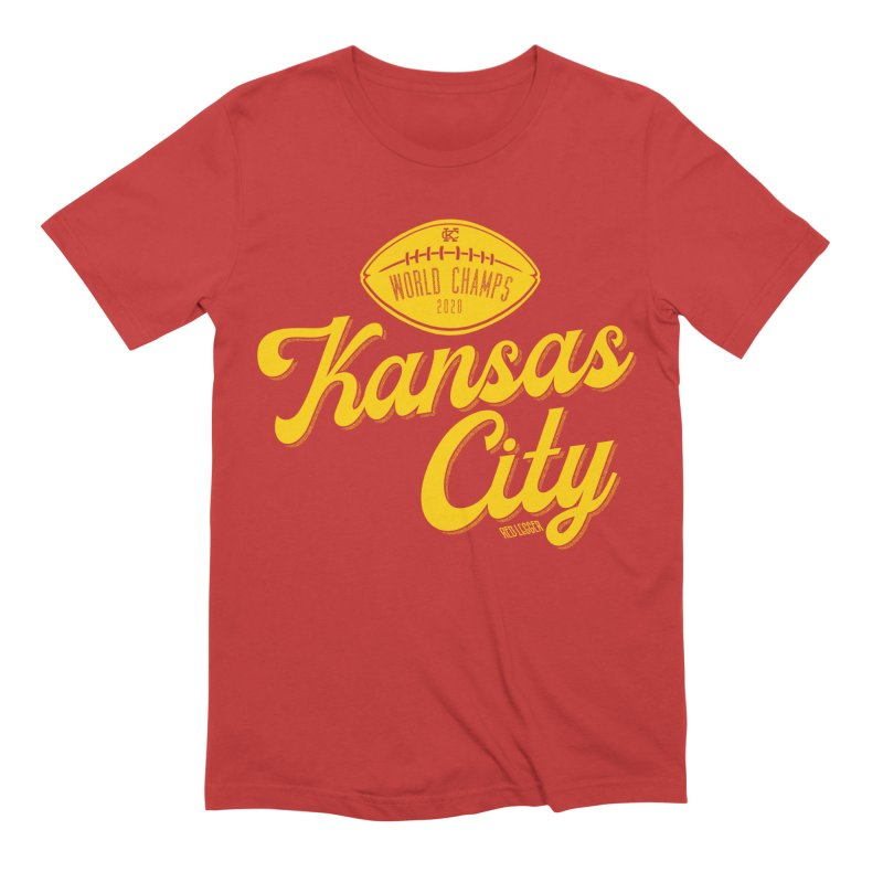 Kansas City Champs Men's T-Shirt by redleggerstudio's Shop