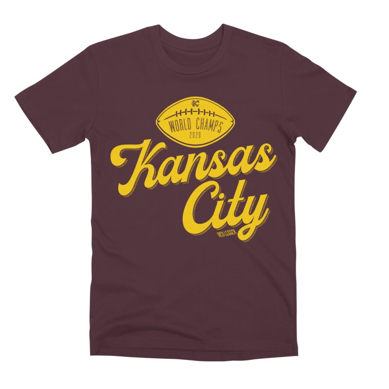 Kansas City Champs Men's Premium T-Shirt by redleggerstudio's Shop