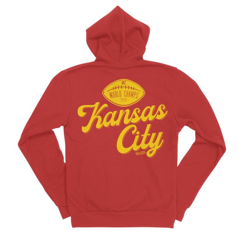Kansas City Champs Women's Zip-Up Hoody by redleggerstudio's Shop