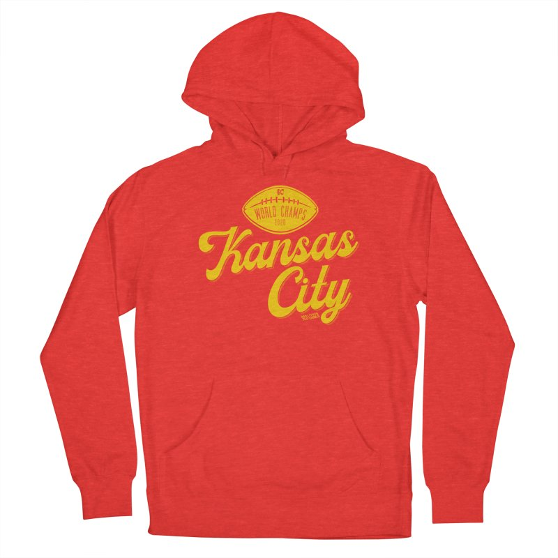 Kansas City Champs Men's Pullover Hoody by redleggerstudio's Shop