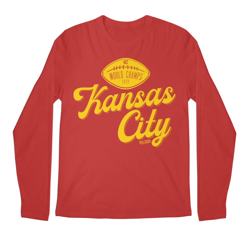 Kansas City Champs Men's Longsleeve T-Shirt by redleggerstudio's Shop