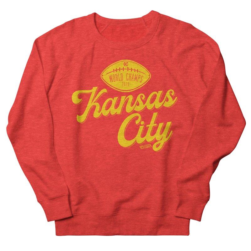 Kansas City Champs Women's Sweatshirt by redleggerstudio's Shop